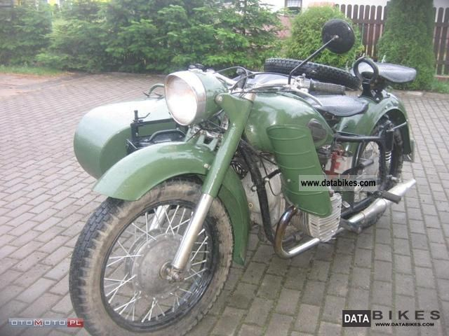 Ural  K 750 MW 750 1964 Vintage, Classic and Old Bikes photo