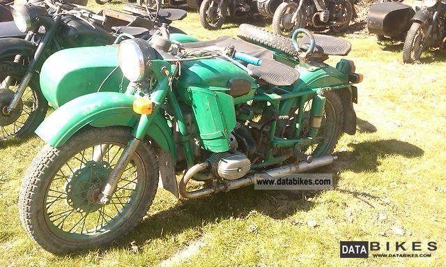 Ural  PO ODPRAWIE CELNEJ 1975 Vintage, Classic and Old Bikes photo