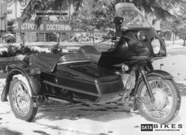 1989 Ural  Dnepr 14.9m Motorcycle Combination/Sidecar photo