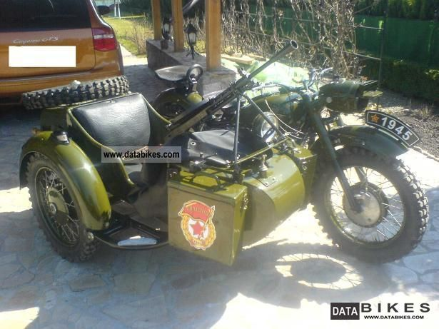 1970 Ural  K-650 / K-750 / M-72 Motorcycle Combination/Sidecar photo