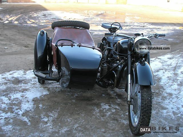 Ural  K750 1964 Vintage, Classic and Old Bikes photo