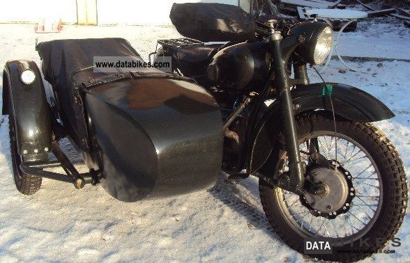Ural  M72 1951 Vintage, Classic and Old Bikes photo