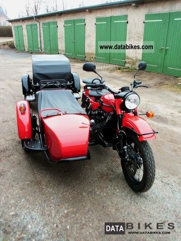 2010 Ural  750 Tourist \ Motorcycle Combination/Sidecar photo