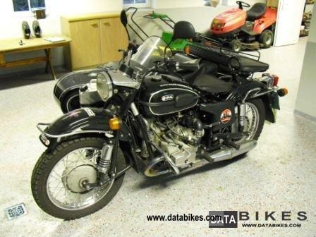 2001 Ural  750 He Tourist Motorcycle Combination/Sidecar photo