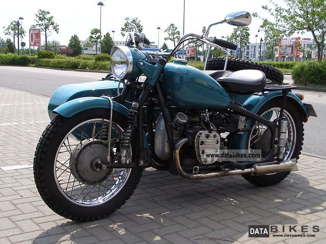 Ural  CJ 750 1957 Vintage, Classic and Old Bikes photo