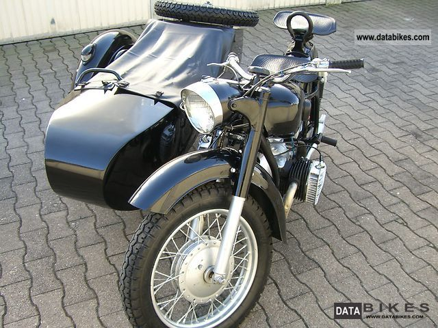 1965 Ural  Dnepr K-750 Motorcycle Combination/Sidecar photo