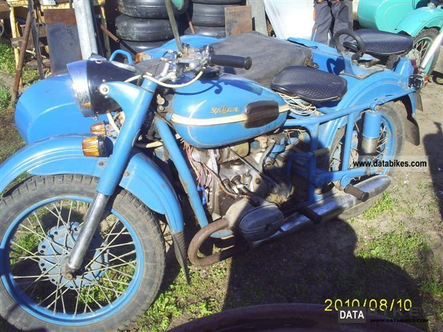 Ural  M-67 1975 Vintage, Classic and Old Bikes photo