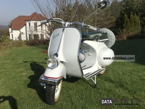 Vespa  gtr 125 1952 Vintage, Classic and Old Bikes photo