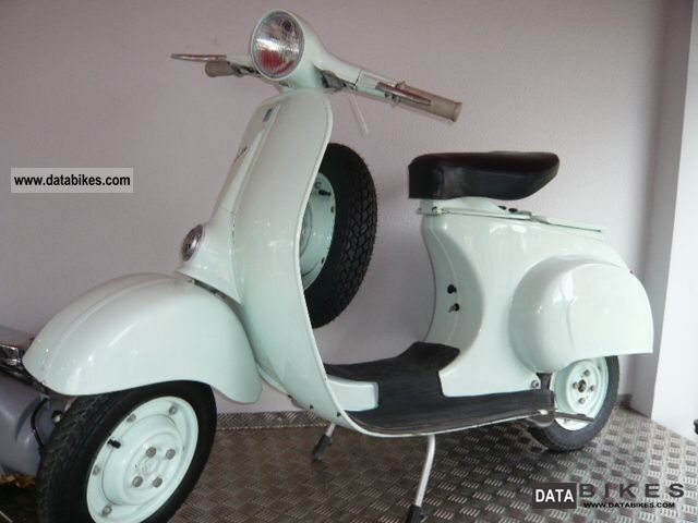 Vespa  50cc first V Series 1963 Vintage, Classic and Old Bikes photo