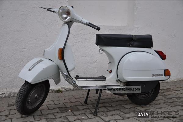 1989 Vespa P 200 E