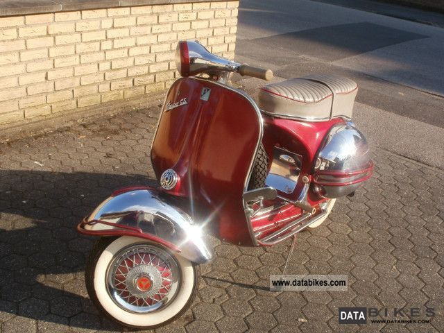 Vespa  150 GS 3 1960 Vintage, Classic and Old Bikes photo
