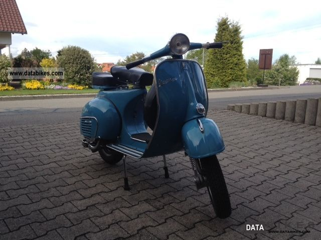 1964 Vespa  VBB 150 Motorcycle Scooter photo