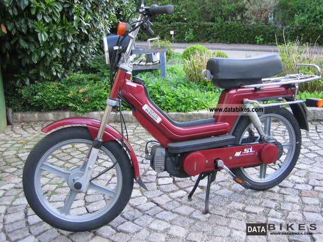1992 Vespa  SI moped Motorcycle Motor-assisted Bicycle/Small Moped photo