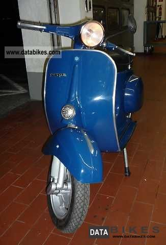 Vespa  50N restored in dark blue 1967 Vintage, Classic and Old Bikes photo