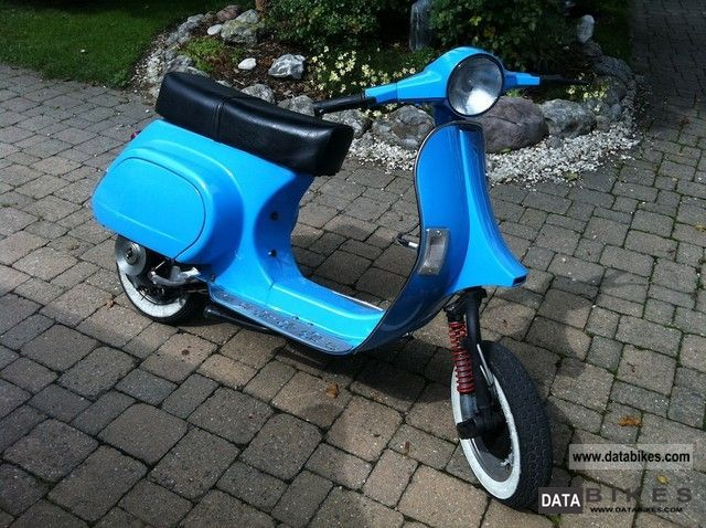 1990 Vespa  PK 50 XL Motorcycle Scooter photo