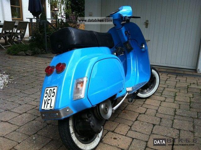 Automatic Transmission Motorcycle >> 1990 Vespa PK 50 XL