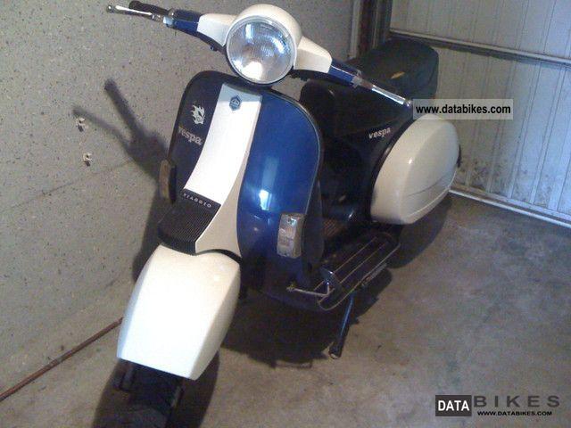 1995 Vespa  P 80 X Motorcycle Scooter photo