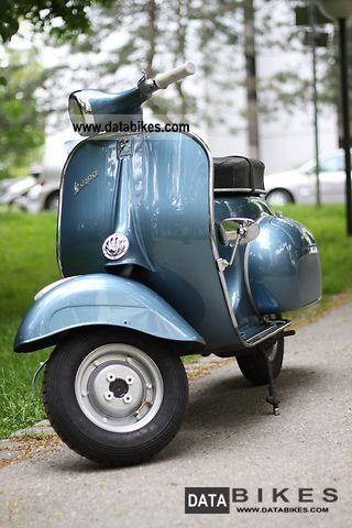 1961 Vespa Vnb1t Year 1960