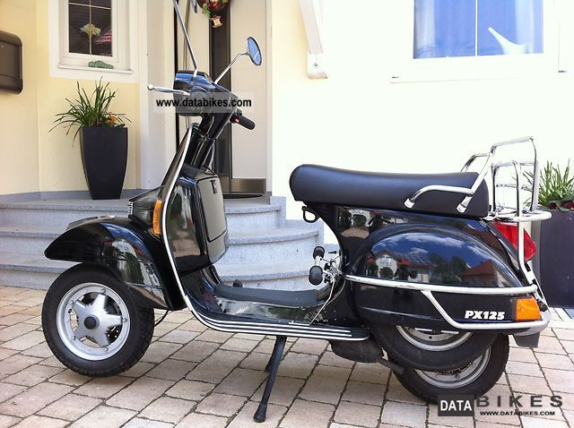 2000 vespa px 125. Black Bedroom Furniture Sets. Home Design Ideas