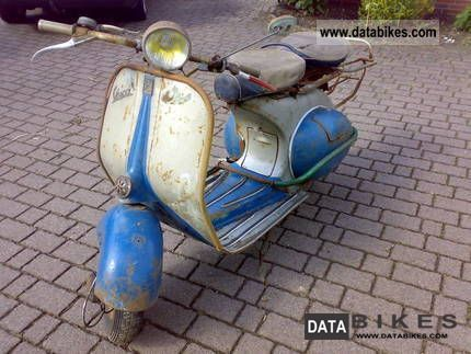 Vespa  ACMA 1955 Vintage, Classic and Old Bikes photo