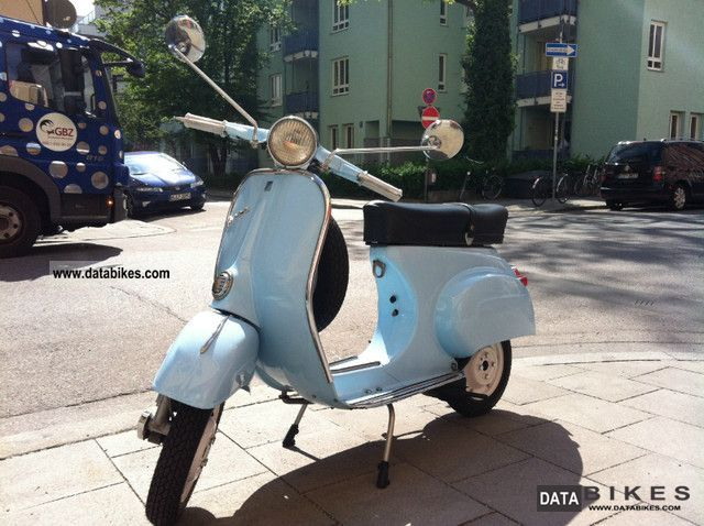 1963 Vespa  50 N Motorcycle Scooter photo