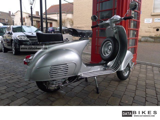 Vespa  * VBB 150 in perfect restaur. Dream state tax * 1961 Vintage, Classic and Old Bikes photo