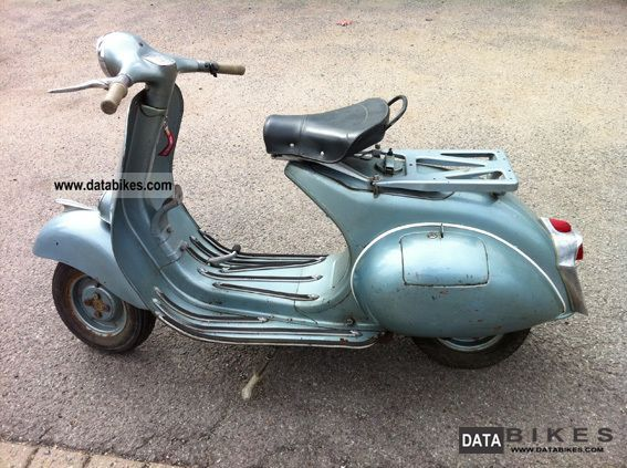 Vespa  150 1958 Vintage, Classic and Old Bikes photo