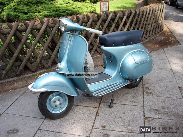 Vespa  150 1961 Vintage, Classic and Old Bikes photo