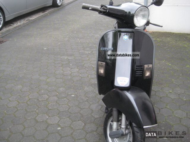 1995 Vespa  pk 50 4 speed 7250 km beautiful Motorcycle Scooter photo