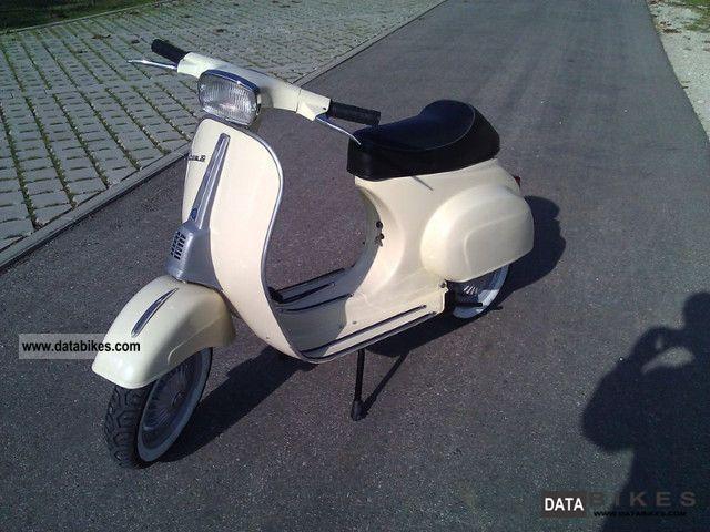 1980 Vespa  V50 Motorcycle Scooter photo