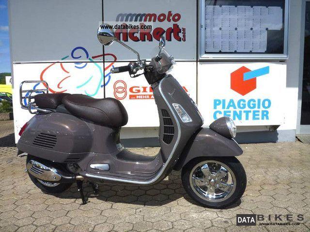 2011 Vespa  MSRP GTV 300 i.E. Marrone-ETNA 2012 BRAND NEW! Motorcycle Scooter photo