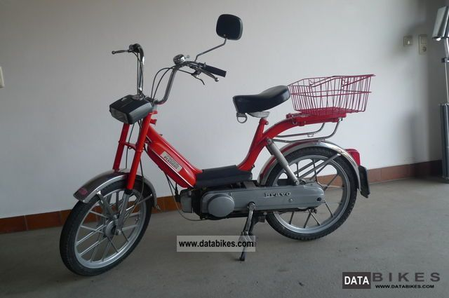 1982 Vespa  Piaggio Bravo SC 2 Motorcycle Motor-assisted Bicycle/Small Moped photo