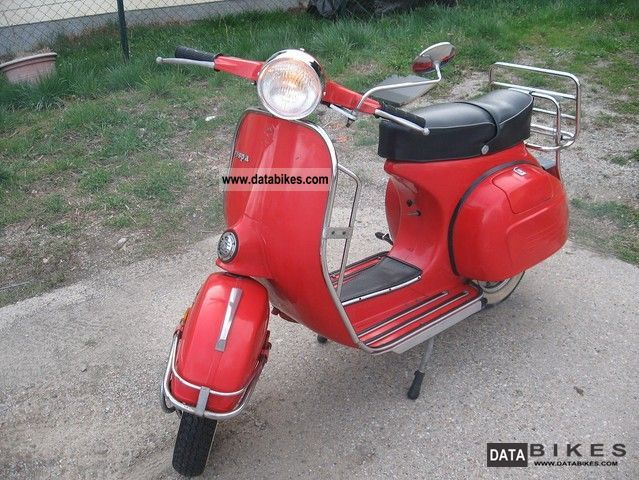 1978 Vespa  125 sprint Motorcycle Scooter photo