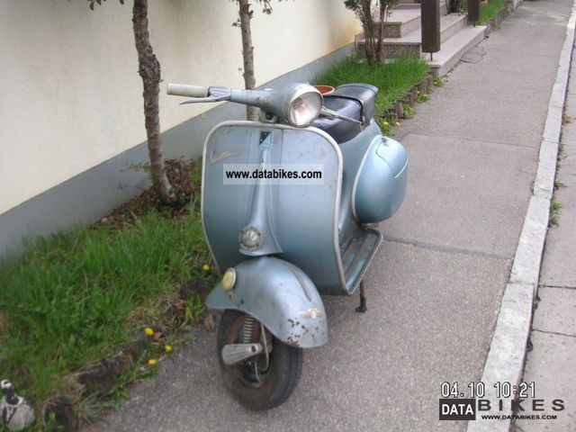 Vespa  VBA 1960 Vintage, Classic and Old Bikes photo