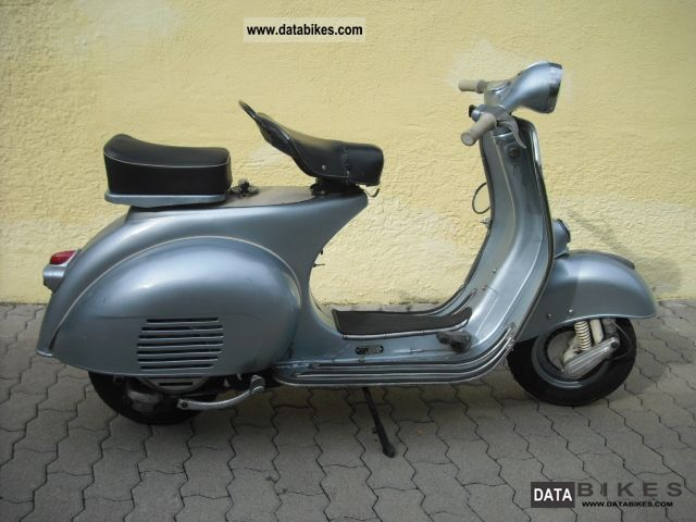 Vespa  VBA 150 1959 Vintage, Classic and Old Bikes photo
