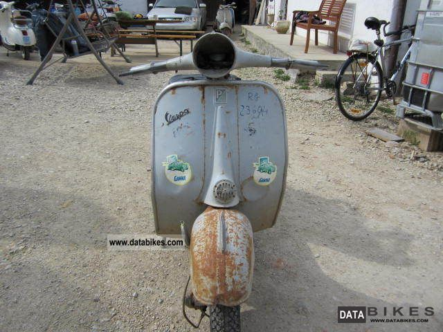 Vespa  DSO 125 4T 1962 Vintage, Classic and Old Bikes photo
