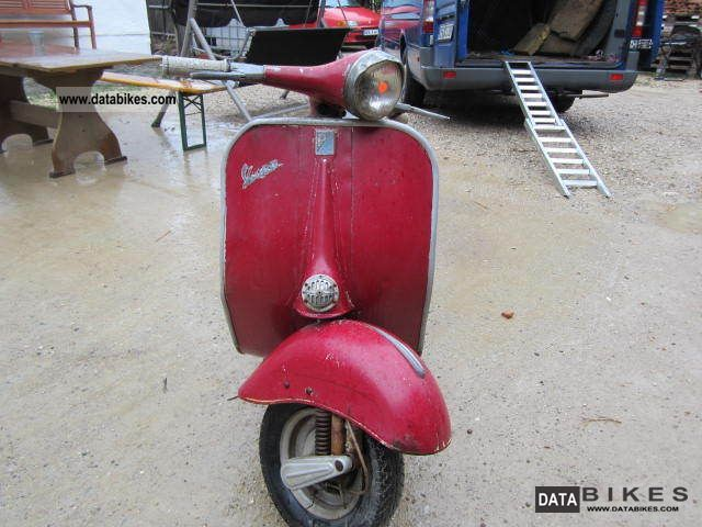 Vespa  VNB 3T 125 1961 Vintage, Classic and Old Bikes photo