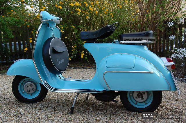 Vespa  VNA 125 2 T 1959 Vintage, Classic and Old Bikes photo