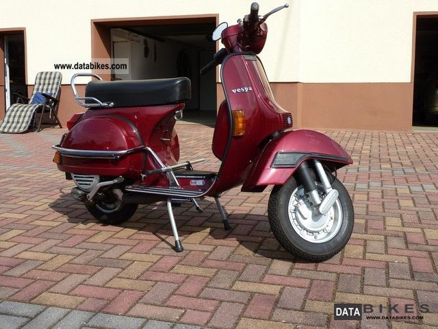 Vespa  P 125 X 1979 Vintage, Classic and Old Bikes photo