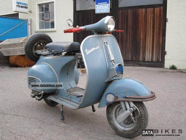 Vespa  Vbb 150 Vbb2t O-paint 1963 Vintage, Classic and Old Bikes photo