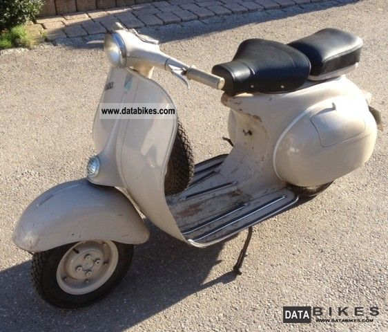Vespa  VNA 125 1959 Vintage, Classic and Old Bikes photo