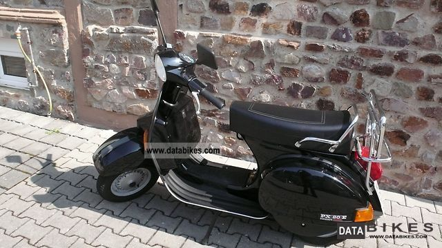1996 vespa px 80 elestart lusso. Black Bedroom Furniture Sets. Home Design Ideas