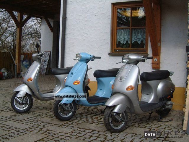 2001 vespa et2. Black Bedroom Furniture Sets. Home Design Ideas