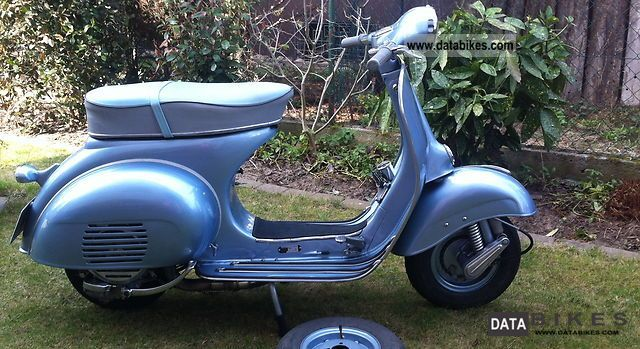 Vespa  VNB T4 Augsburg 1962 Vintage, Classic and Old Bikes photo