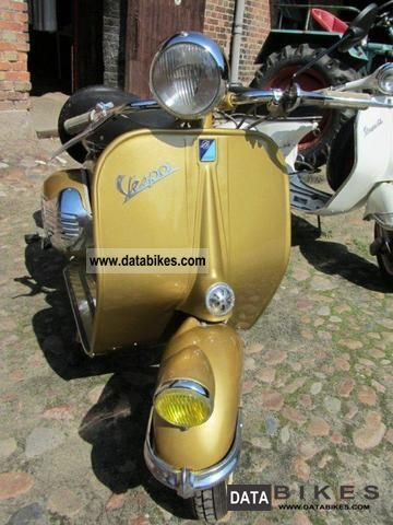 Vespa  Queen 1954 Vintage, Classic and Old Bikes photo