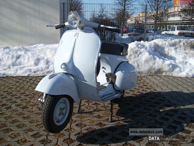 Vespa  DSO 3 T 1962 Vintage, Classic and Old Bikes photo