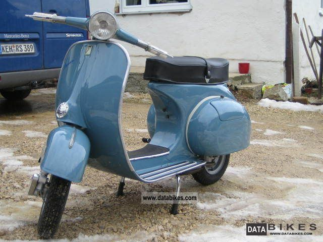 Vespa  Vbb 150 VBA1T 1959 Vintage, Classic and Old Bikes photo