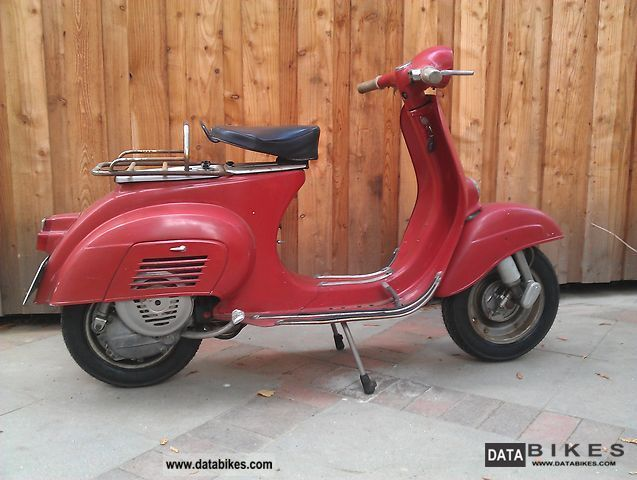 1965 Vespa  50S Motorcycle Scooter photo