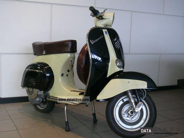 1967 Vespa  V 50 V5SA1T Restored OLDTIMER Motorcycle Scooter photo