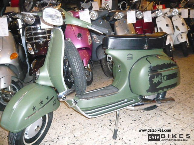 1968 Vespa  Sprint 150cc dull olive Special Motorcycle Scooter photo